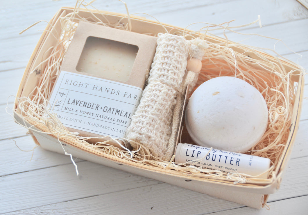 Oatmeal + Honey- Calming Bath Set