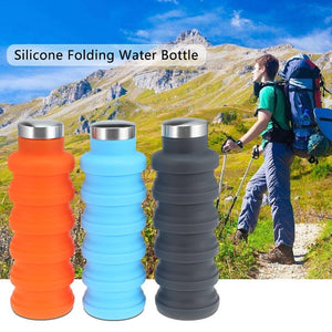 Collapsible Water Bottle for Travel and Sports