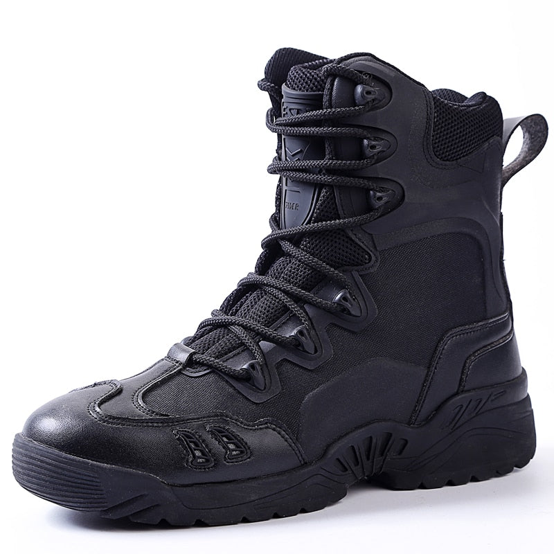 Lightweight Waterproof Military Tactical Boots
