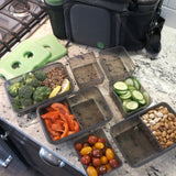 Meal Prep Bag with Food Containers