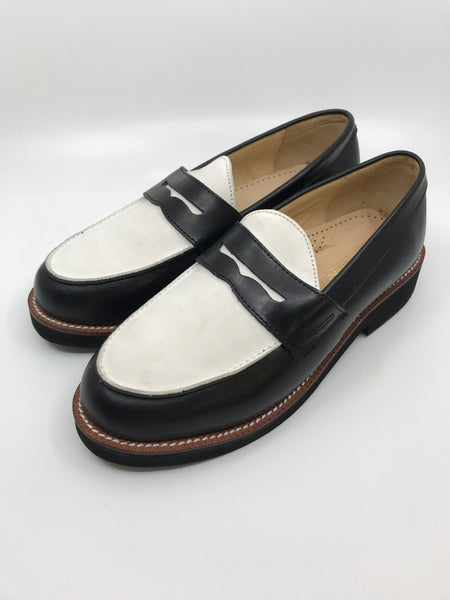 Re-Mix Penny Loafers