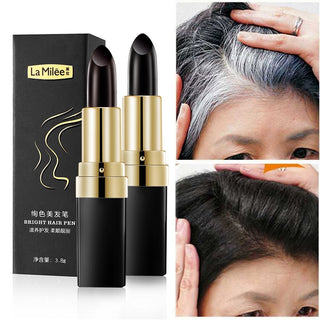 (2PCS) Instant Hair Dye Pen - Black - KE