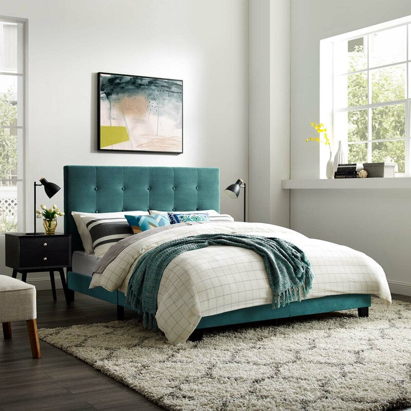 Abbey Upholstered Platform Bed