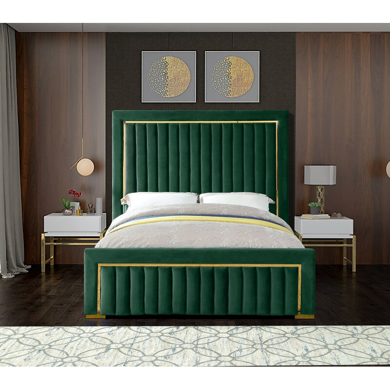 Abilene Upholstered Platform Bed
