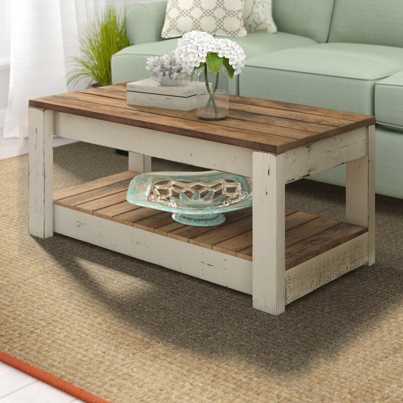 Alice Rustic Coffee Table