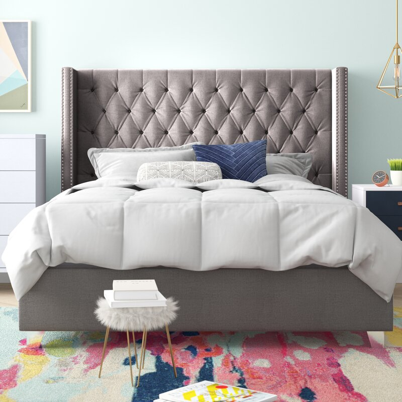 Araa Design Tufted Upholstered Platform Bed
