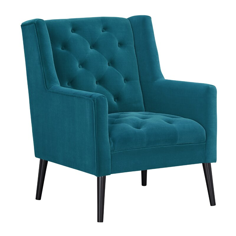 Arjan Chairs Teal Front