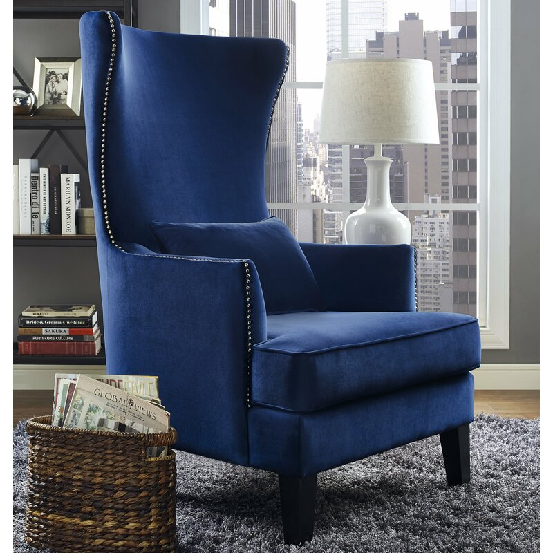 Arsene Chair Blue Color Scene