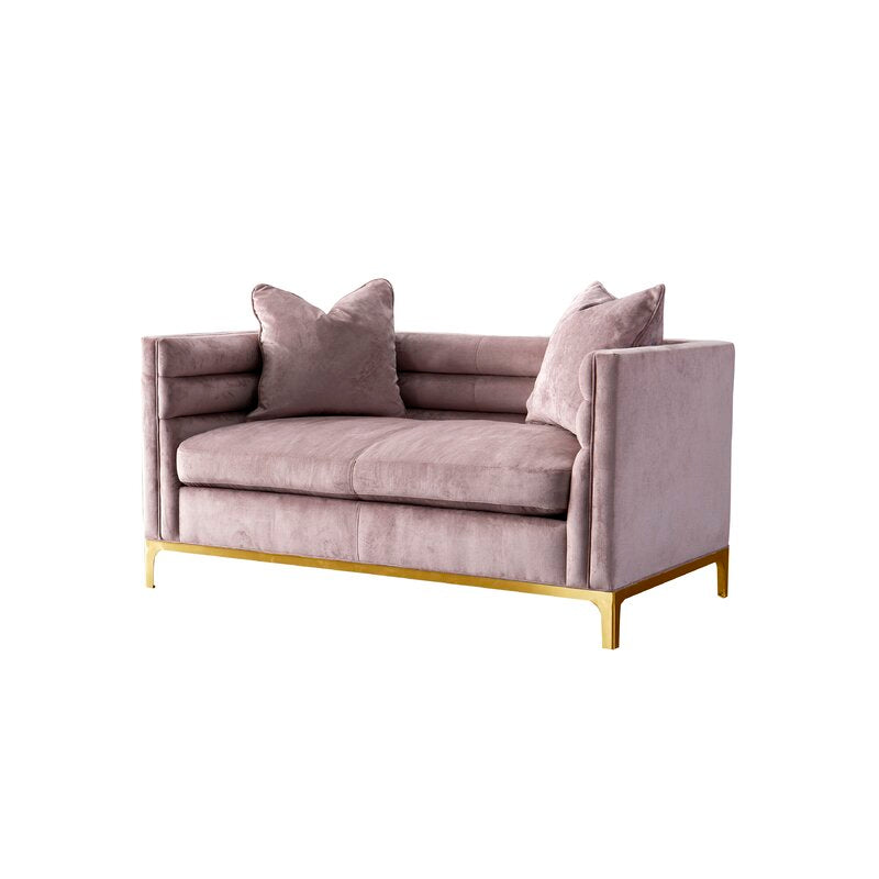 Ayla Design Collection / 160 x 84 CM 2S Velvet Upholstery