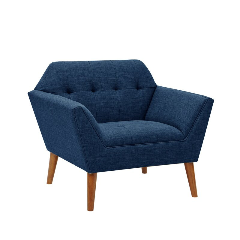 Mila Arm Chair / 97 x 78 CM Velvet Upholstery