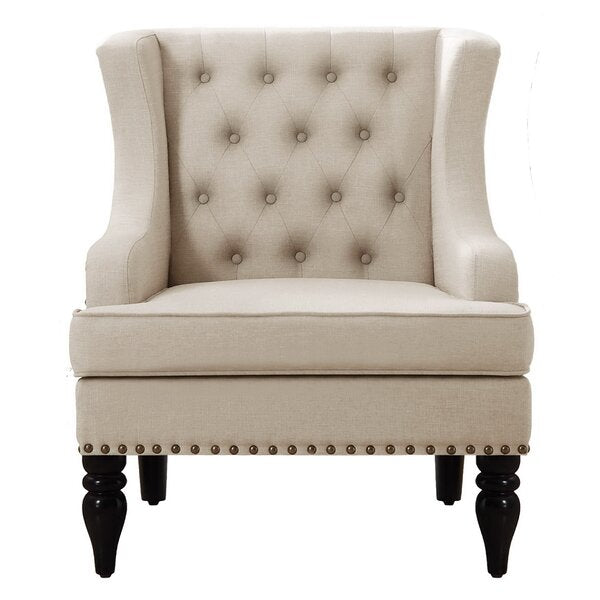 Citrine Wingback Chair