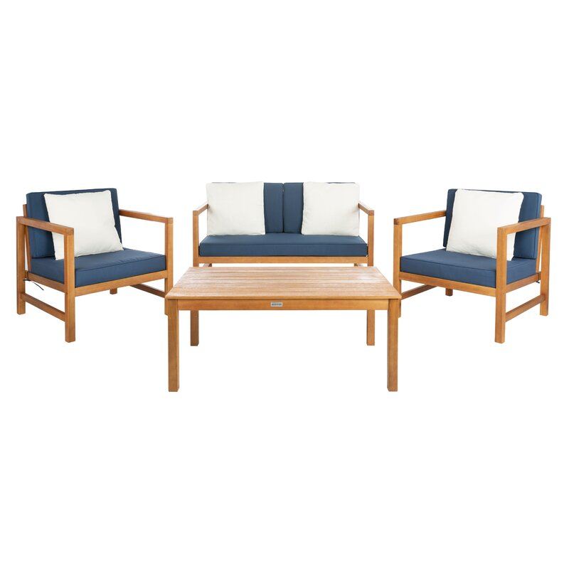 Cresto Outdoor Teak Wood Set / 4 People.