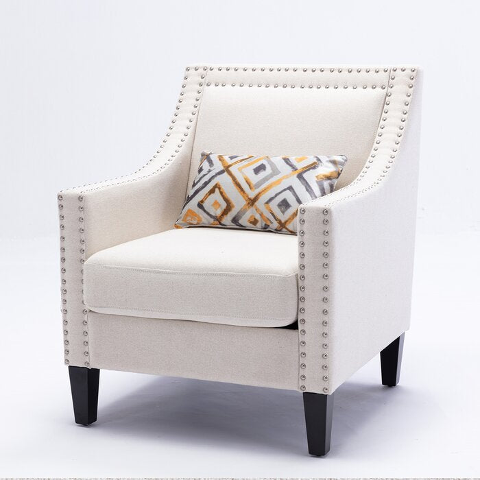 Crystal Linen Blend Armchair in Dubai UAE
