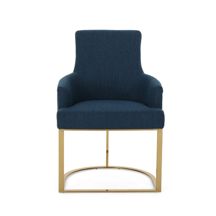 Newcastle Arm Chair / 81 x 63 CM Jade Upholstery