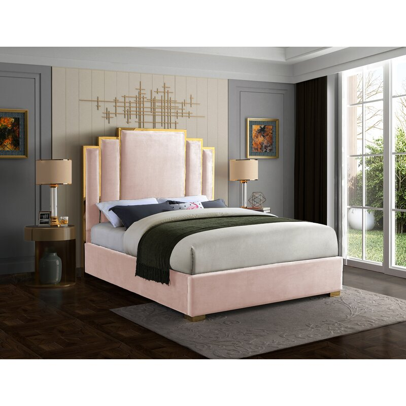 Nova Upholstered Platform Bed