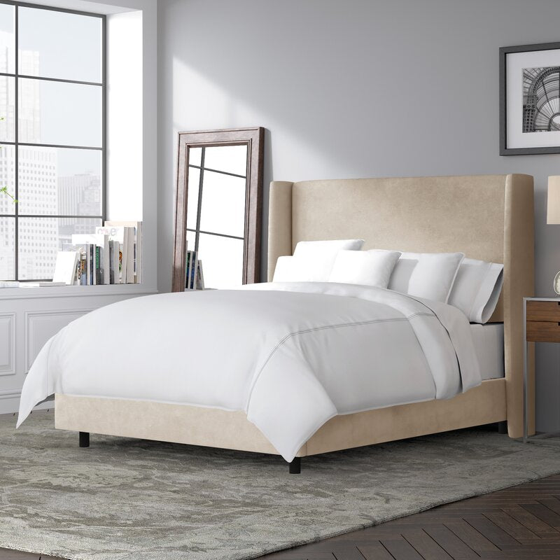 Peyton Velvet Upholstered Bed