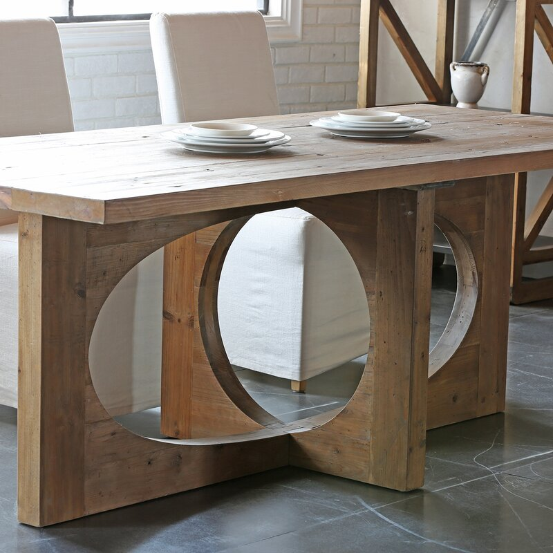 Ruby Solid Wood Dining Table