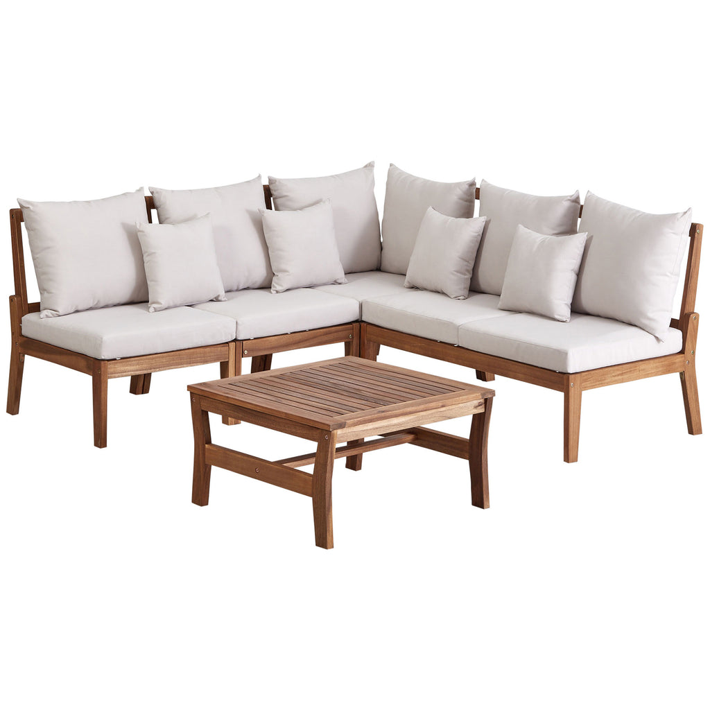 Rusto Outdoor Teak Wood Set / 4 People.