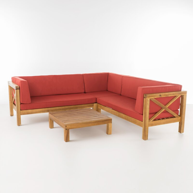Savoy Outdoor Teak Wood Set / 4 People.