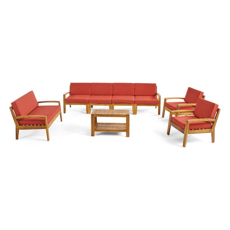 Sayan Outdoor Teak Wood Set / 8 People.