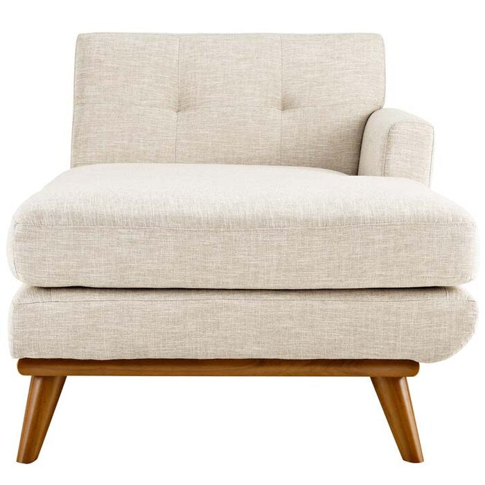 Madison Chaise Lounge / 85 x 95 CM Linen Upholstery
