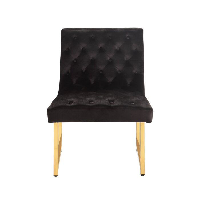 Malibu Side Chair / 81 x 63 CM Upholstery Velvet