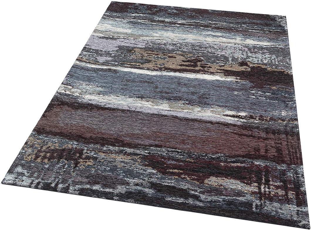 [Non Shedding Lightweight and Durable Rugs]-Rugology abstract modern contemporary minimal patter and design for living room bedroom kitchen entrance kids room children indoor area black grey silver white charcoal dark colours sophisticated vibrant eye catching