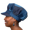 Women's Hat - Blue Denim Multi Shade