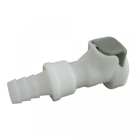 Female Coupler 3/8 Barb Q/D (Bin F2)
