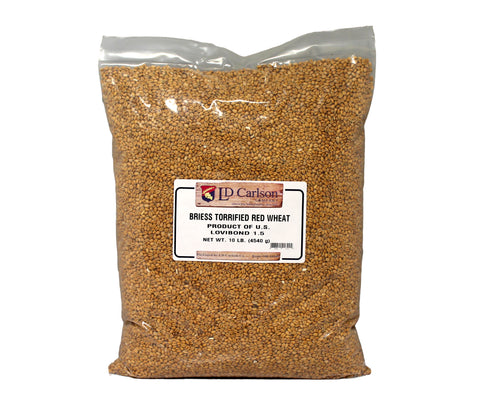 Briess Torrified Wheat (Soft Red Whole Kernal)10 LB