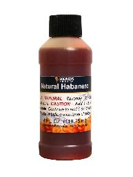 Habanero Flavoring Extract 4 Oz Natural Flavors