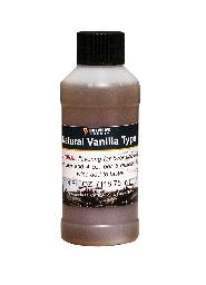 Vanilla Type Flavoring Extract 4 Oz Natural Flavors