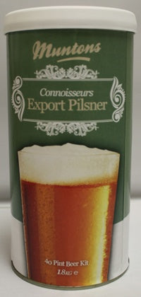 Muntons 4 Lb Export Pilsner Malt Extract - 1 Tin