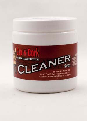 Cap N Cork Cleaner / CNC Brewery Wash 8oz