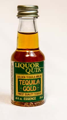 Golden Tequila Liquor Quik Essence