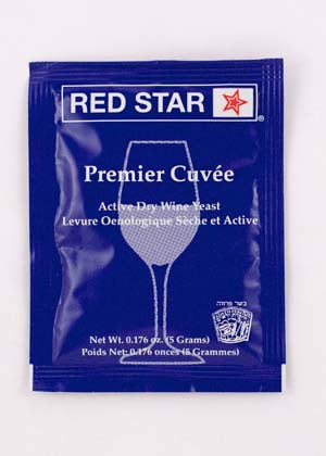 Red Star Premier Cuvee Wine Yeast