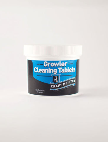 Craft Meister Growler Cleaning Tablets 25 Ct