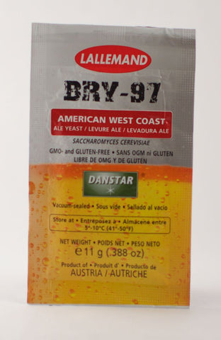 Lallemand BRY-97 Brewing Yeast (11 Gram)