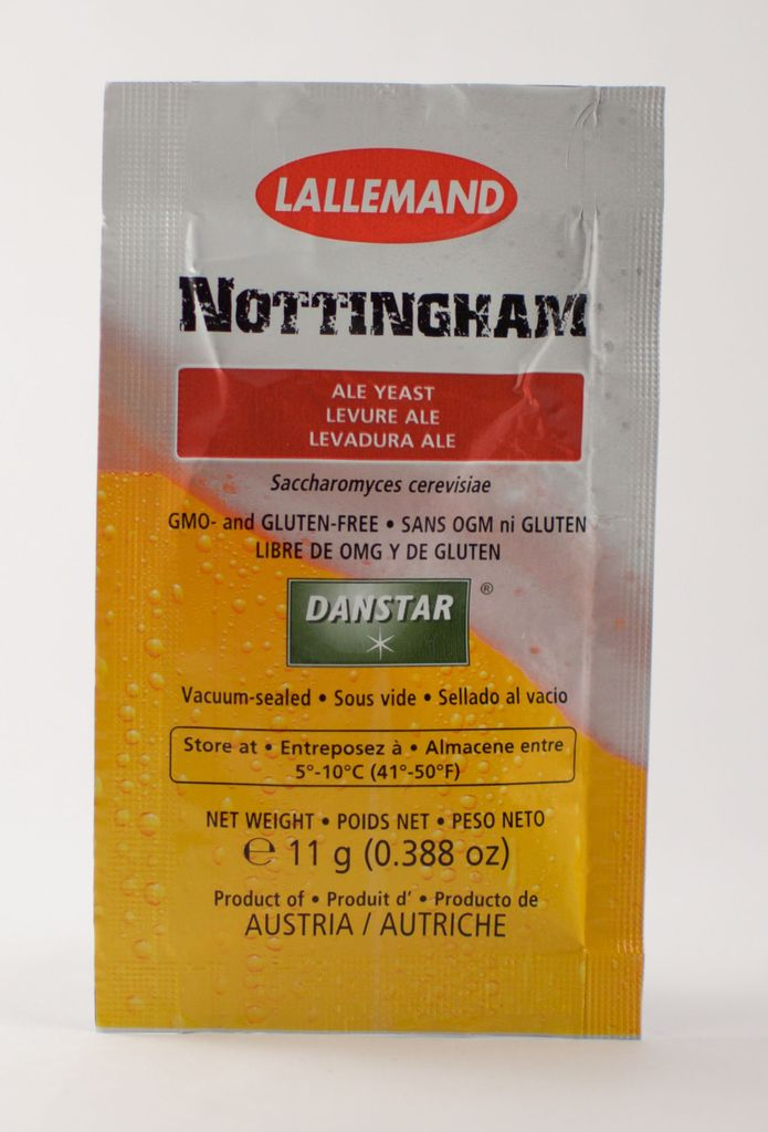 Lallemand Nottingham Ale Brewing Yeast (11 Gram)