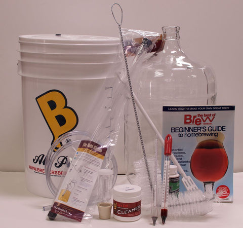 Five Gallon Beer Starter Equipment Kit