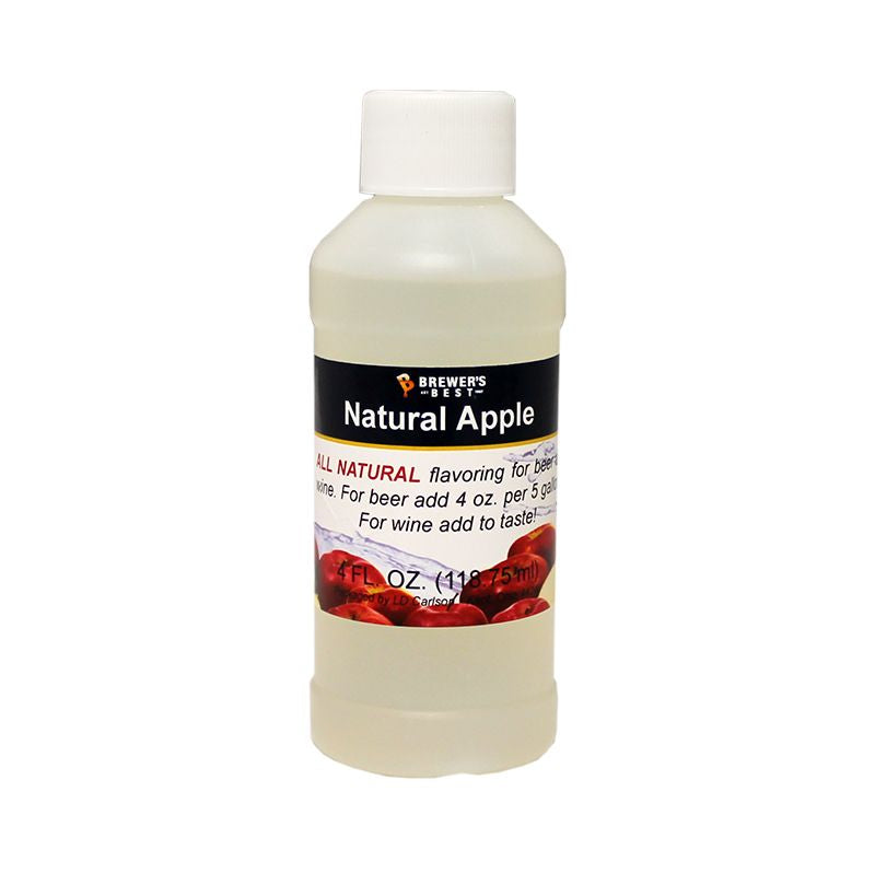 Apple Flavoring Extract 4 Oz Natural Flavors