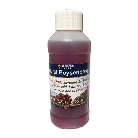 Natural Boysenberry Flavoring Extract 4 oz