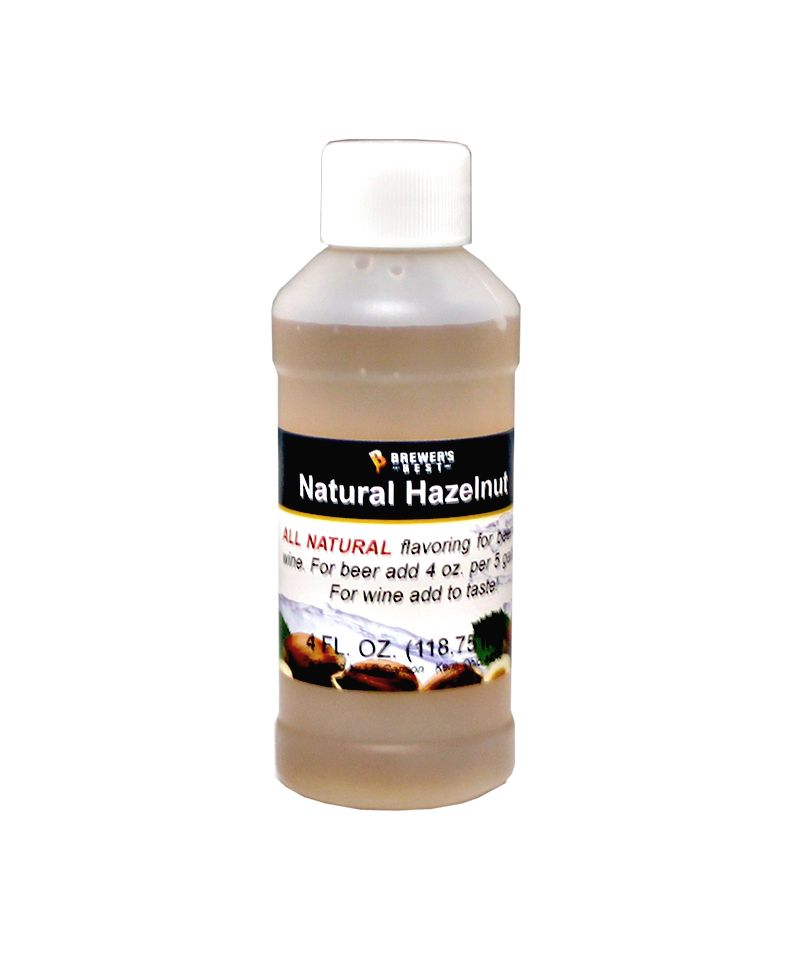 Hazelnut Flavoring Extract 4 Oz Natural Flavors