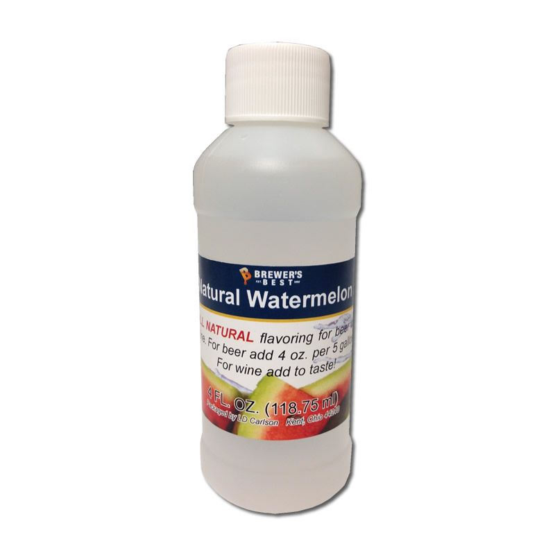 Natural Watermelon Flavoring Extract 4 oz