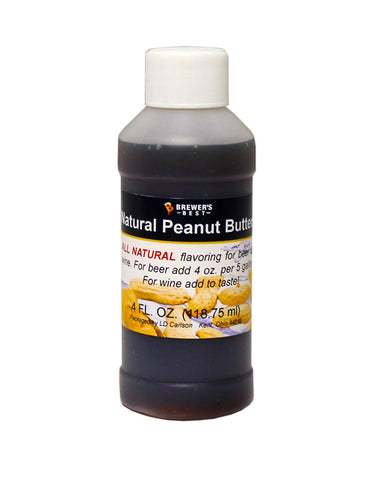 Peanut Butter Flavoring Extract 4 Oz Natural Flavors