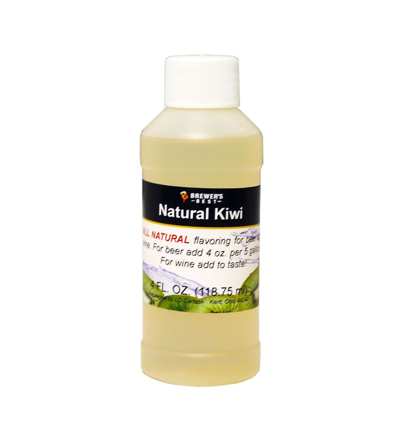 Kiwi Flavoring Extract 4 Oz Natural Flavors