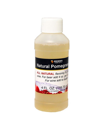 Natural Pomegranate Flavoring Extract 4 oz