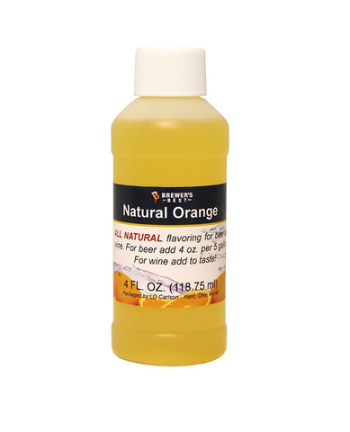 Orange Flavoring Extract 4 Oz Natural Flavors