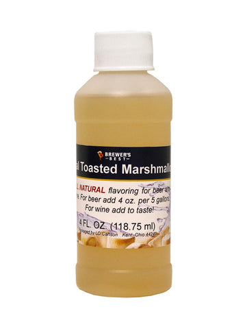 Toasted Marshmallow Flavoring Extract 4 Oz Natural Flavors