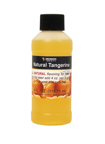 Natural Tangerine Flavoring Extract 4 oz